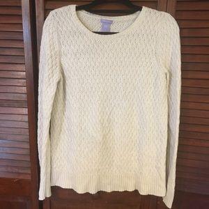 GAP Maternity Off White Sweater